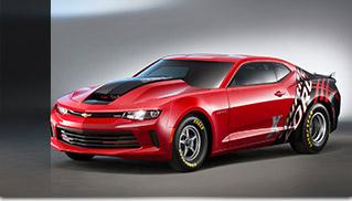 2016 Chevrolet COPO Camaro Front Angle