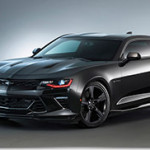 Camaro Black concept – Backs Up its Sinister Look with New Performance Parts