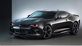 2016 Chevrolet Camaro Black concept