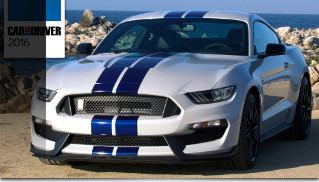 Ford Shelby GT350 and GT350R Mustang Named to the Car and Driver 2016 10Best List