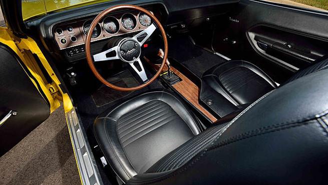 1970 Plymouth Hemi Cuda Convertible Front Angle