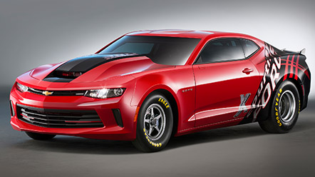 2016 Copo Camaro No.1 Sale to Benefit United Way
