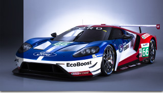 2016 Ford GT FIA Front Angle