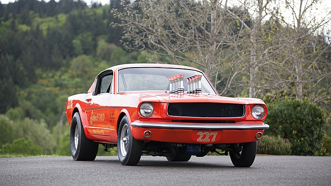 1965 Ford Mustang A/FX Holman Moody SOHC 427 CI - Muscle ...