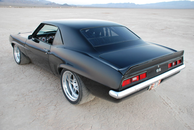 1969 Chevrolet Camaro ZL-1 Pro Touring - Muscle Cars News ...