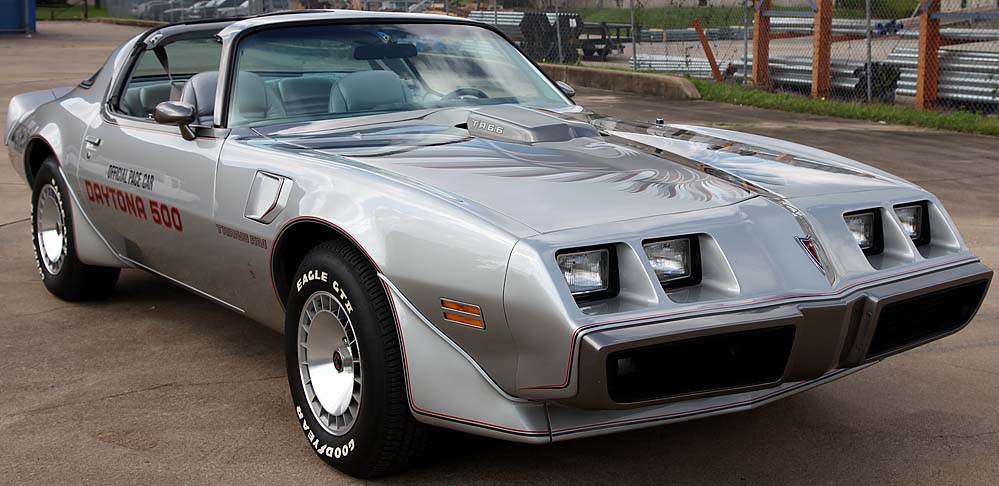 1979 pontiac trans am 10th anniversary daytona pace car muscle cars news and pictures. Black Bedroom Furniture Sets. Home Design Ideas