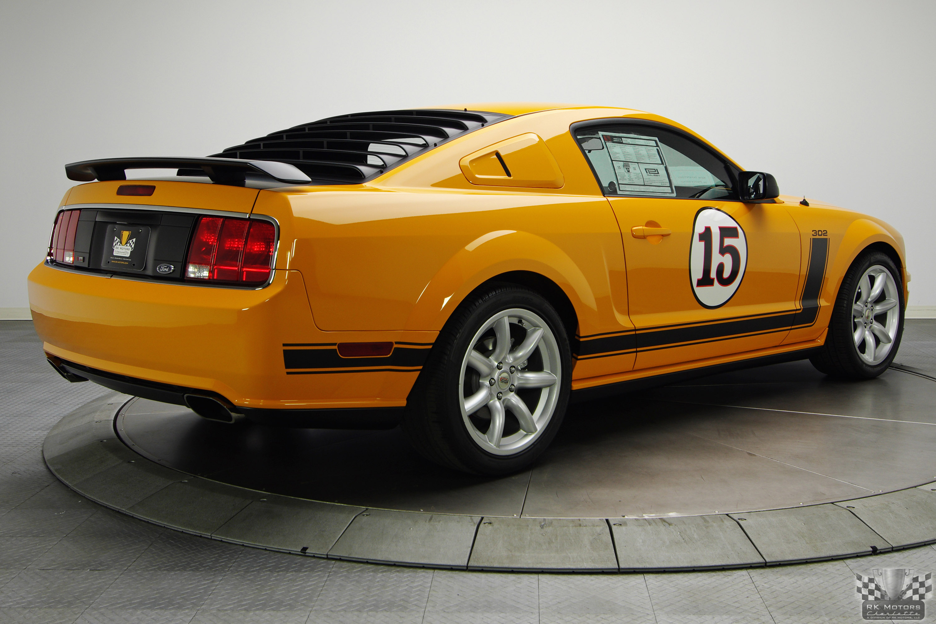 2007 ford saleen mustang parnelli jones 302 muscle cars news and pictures. Black Bedroom Furniture Sets. Home Design Ideas