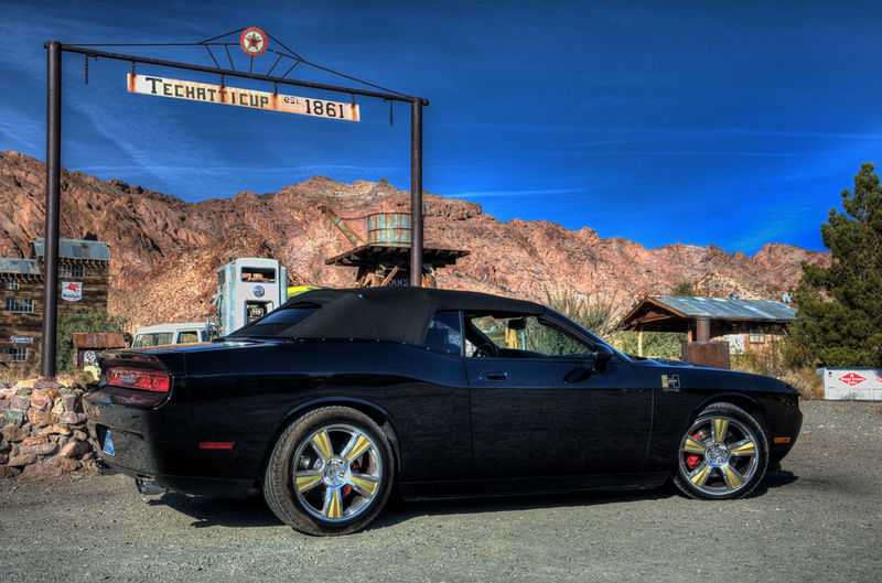 2009 Dodge Challenger Hurst Black Gold Supercharged Custom