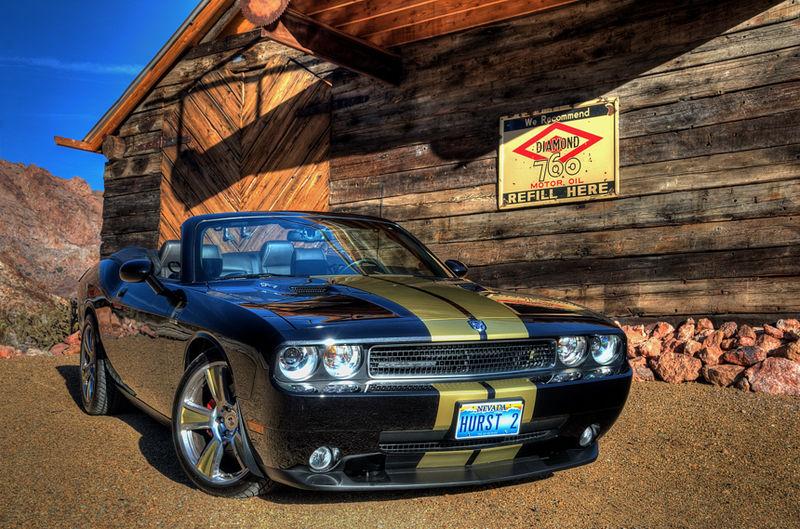 2009 Dodge Challenger Hurst Black Amp Gold Supercharged