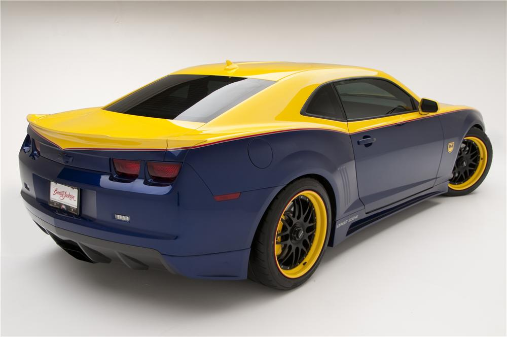 2010 Chevrolet Camaro 2ss Custom Coupe Muscle Cars News