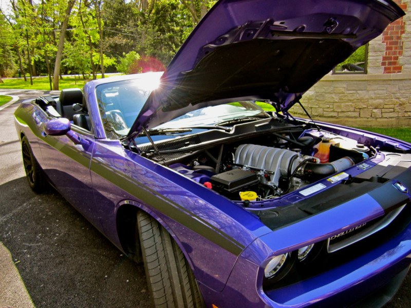 2010 Dodge Challenger SRT8 - 600 HP Custom Convertible - Muscle Cars News and Pictures