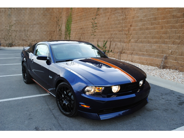 2011 Ford Mustang GT 5.0 Auburn Edition Custom - Muscle Cars News and Pictures