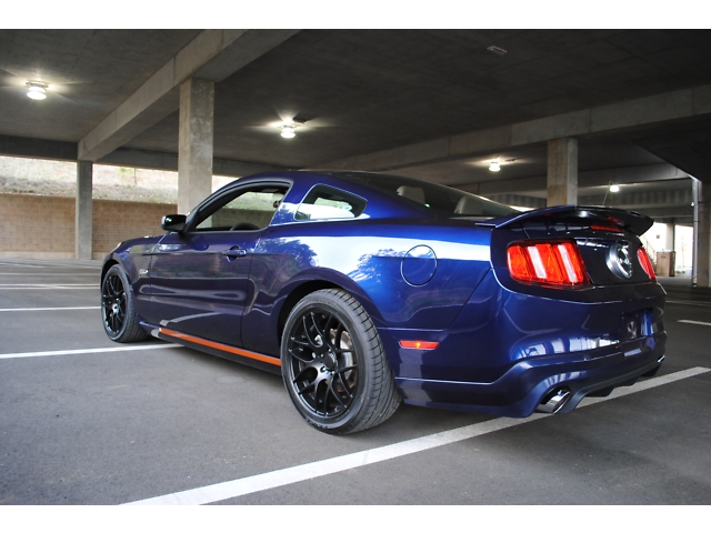 2011 ford mustang gt 5 0 auburn edition custom muscle cars news and pictures. Black Bedroom Furniture Sets. Home Design Ideas