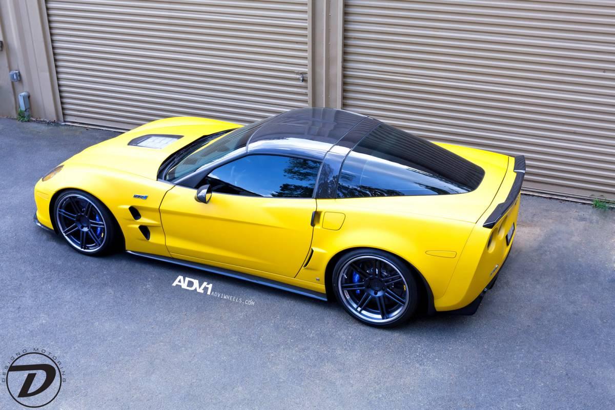 2012 Chevrolet Corvette ZR1 On ADV1 Wheels Muscle Cars