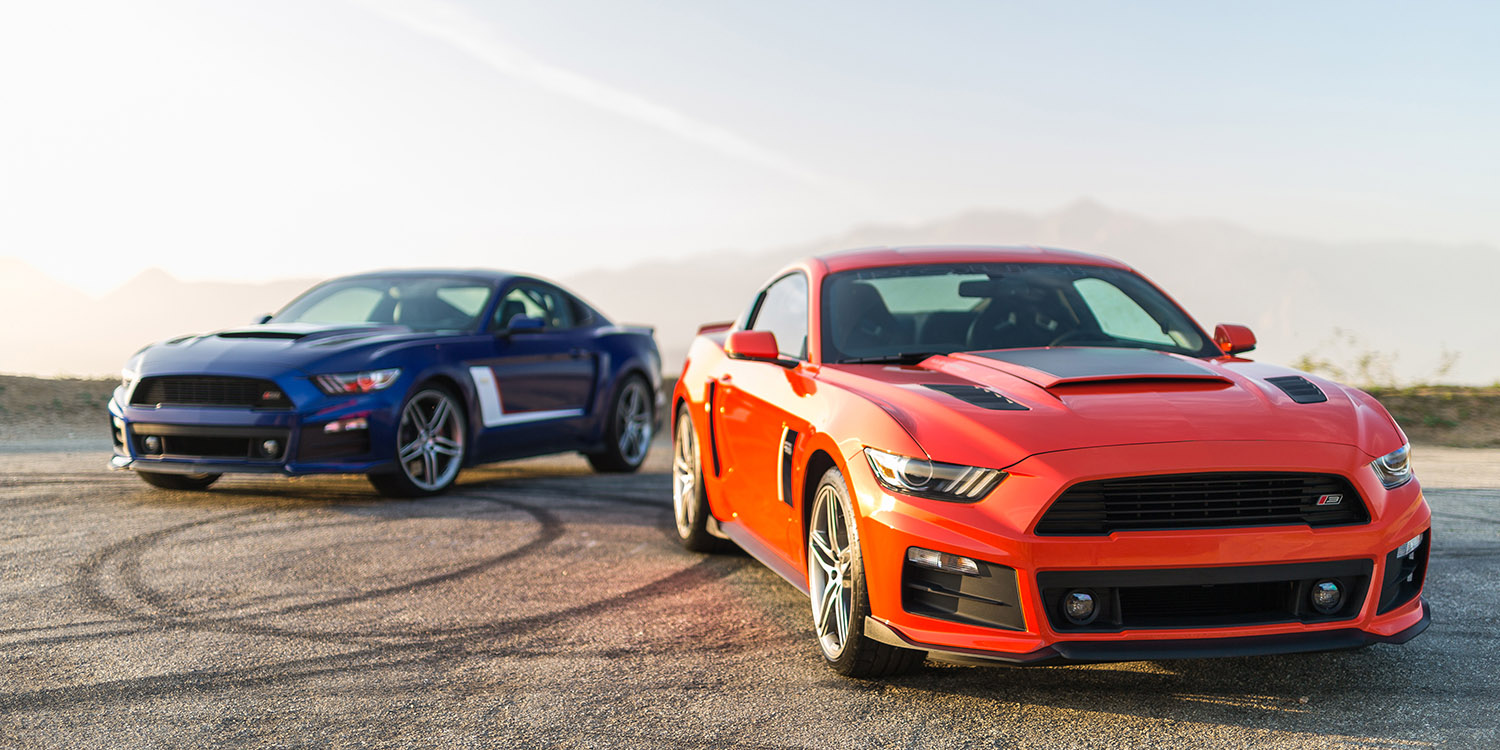 2015 Roush Performance Ford Mustang Stage 3 Muscle Cars