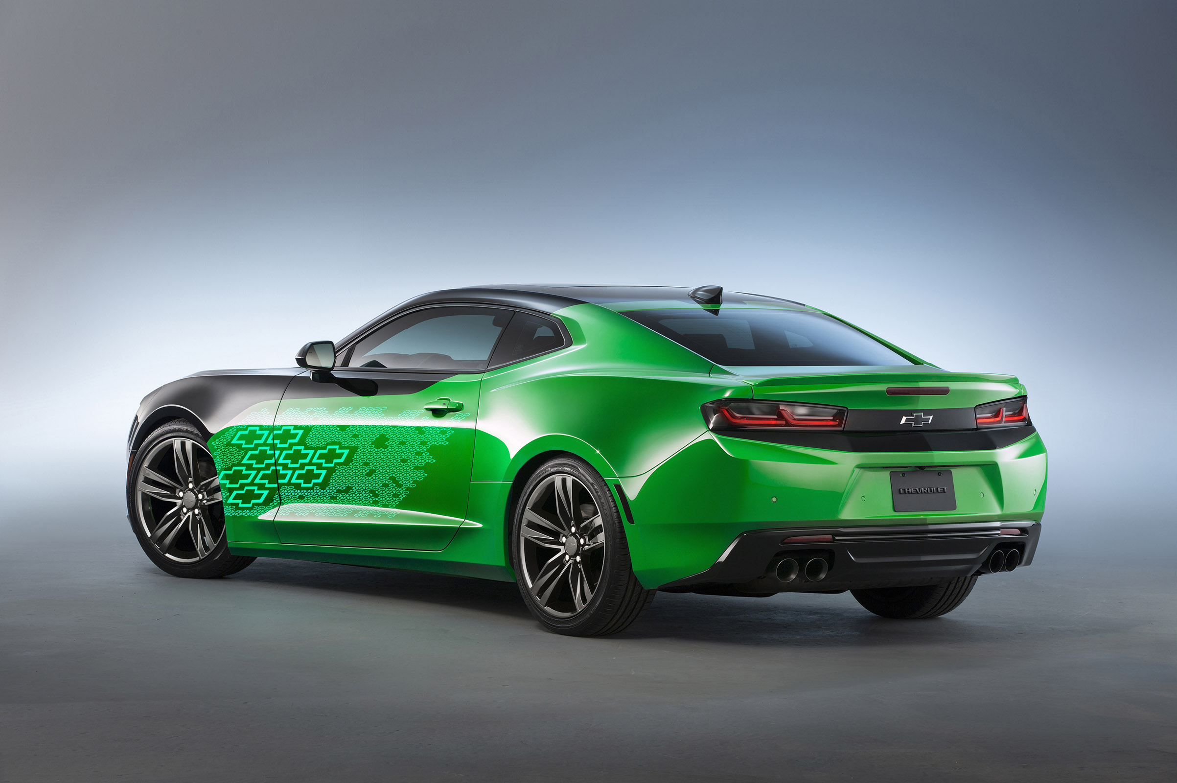 Chevrolet Camaro Krypton Concept Muscle Cars News And