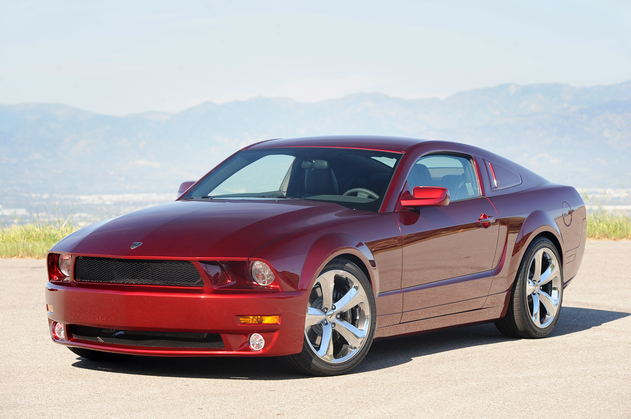 Lee Iacocca S 45th Anniversay Ford Mustang In Candy Apple