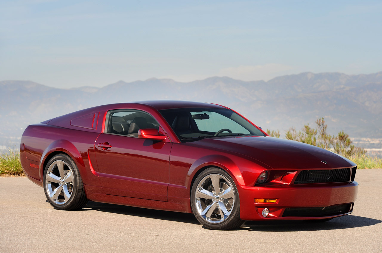Lee Iacocca's 45th Anniversay Ford Mustang in Candy Apple ...