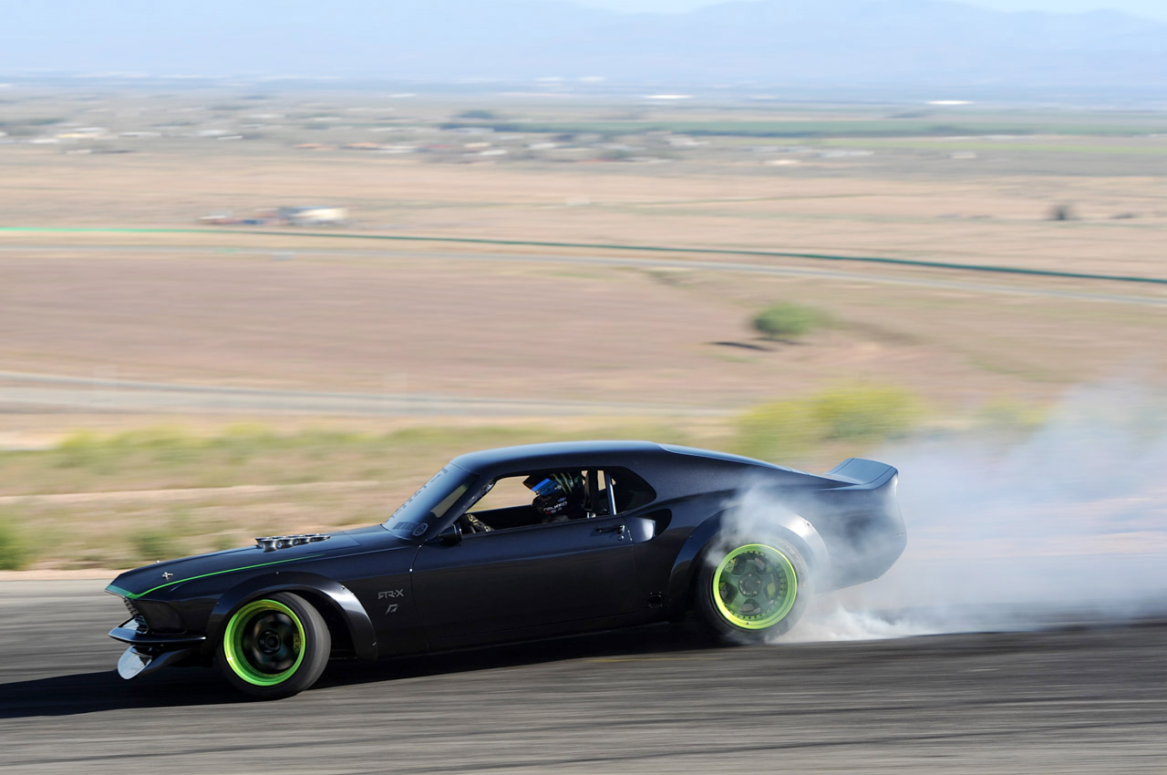 Vaughn Gittin Jr S 1969 Rtr X Mustang Smoking Tires