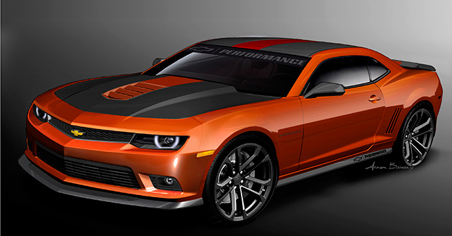 Chevrolet Performance Garage Camaro Muscle Cars News And Pictures