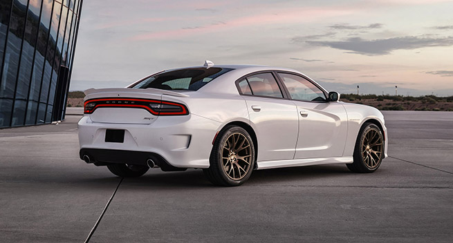 2015 Dodge Charger SRT Hellcat Rear Angle