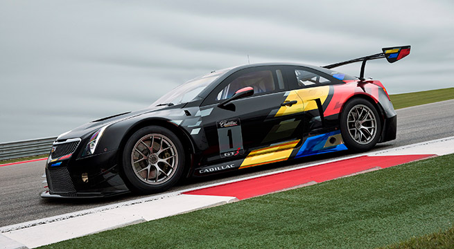 2016 Cadillac ATS-V Coupe Racecar Side