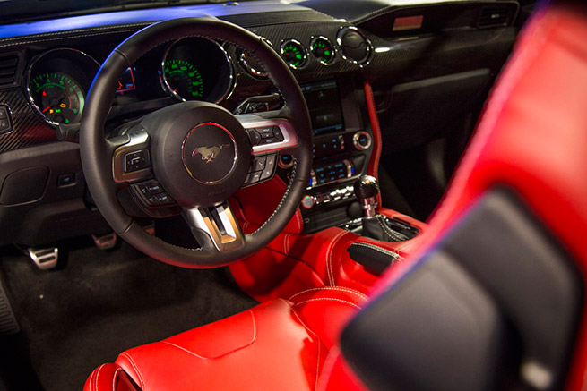 2015 GAS Ford Mustang Rocket 725hp Interior
