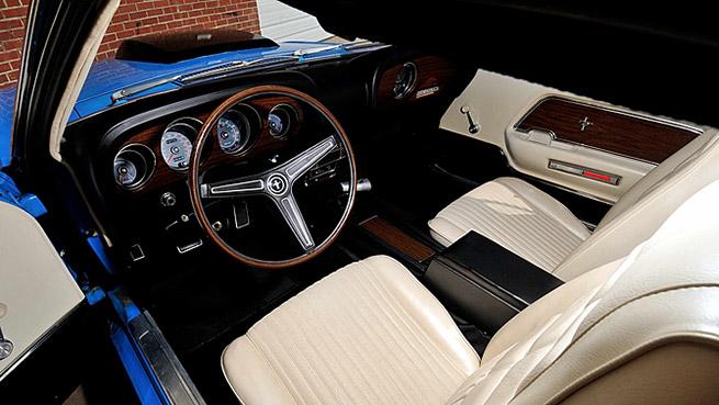 1970 Ford Mustang Boss 429 Fastback Interior