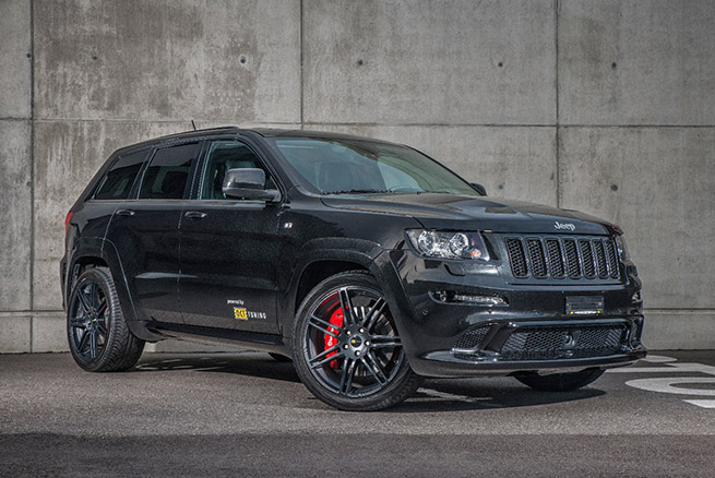 2015 O.CT Tuning Jeep Grand Cherokee SRT8 Front Angle