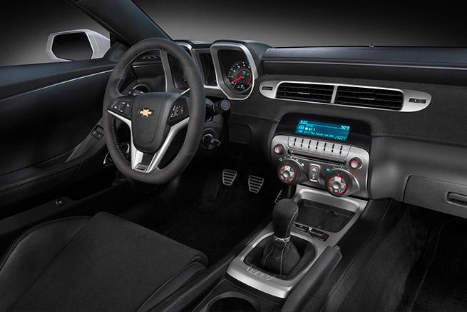 2015 Chevrolet Camaro Z28 Interior