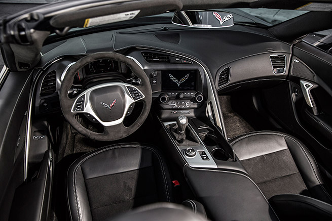2015 Chevrolet Corvette Stingray Convertible Interior