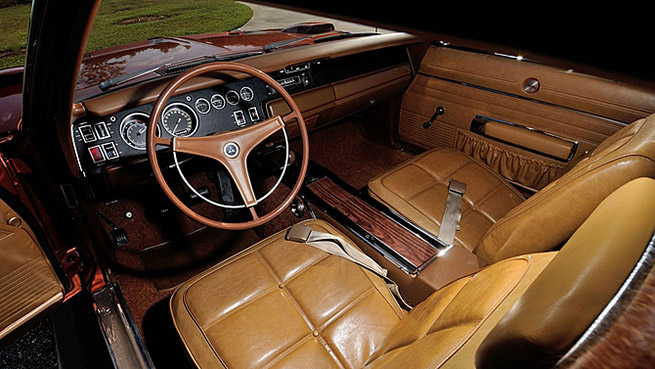 1969 Dodge Hemi Daytona Interior