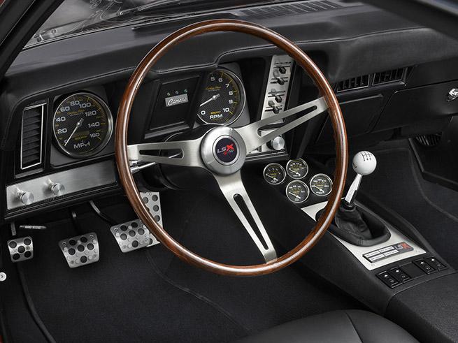 1969 Reggie Jackson Chevrolet Camaro Interior
