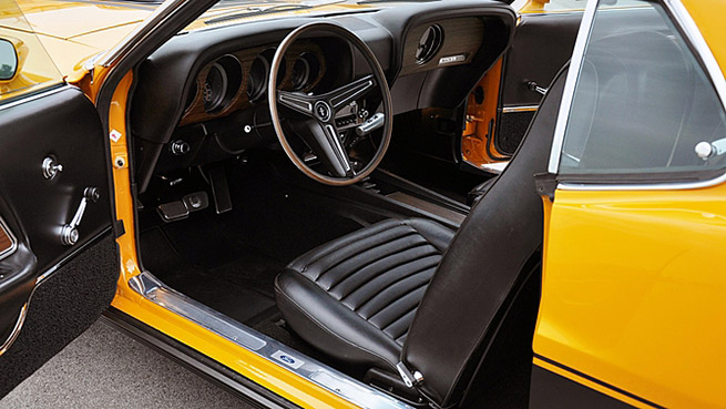 1970 Ford Mustang Mach 1 Twister Special Interior