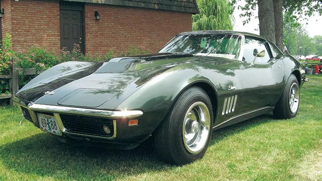 1969 Chevrolet Corvette L88 Coupe Front Angle
