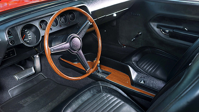 1970 Plymouth Hemi Cuda Unrestored Interior
