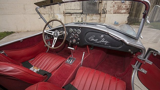 1965 Shelby 289 Cobra Roadster CSX2549 Interior