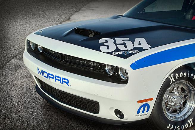 2015 Mopar Dodge Challenger Drag Pak Front Bumper