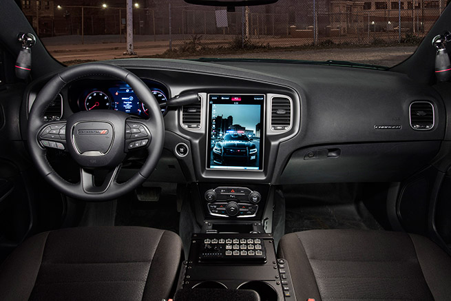 2016 Dodge Charger Pursuit Interior
