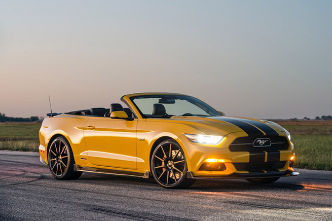 2016 HPE750 Supercharged Ford Mustang Convertible
